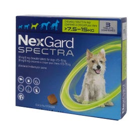Nexgard Spectra Flea And Worm Treatment For Medium Dogs 7